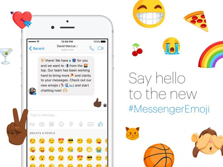 emojis to messenger