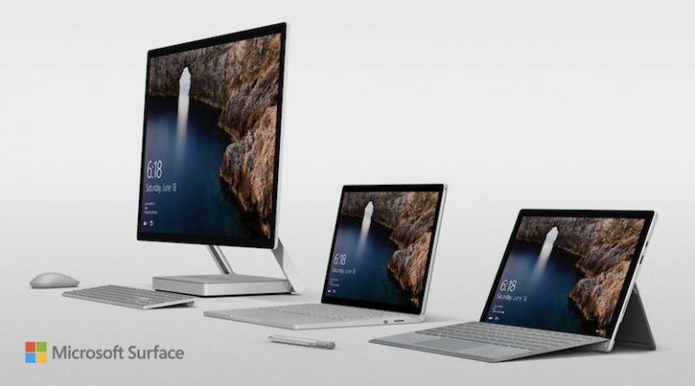 surface book i7 and surface studio