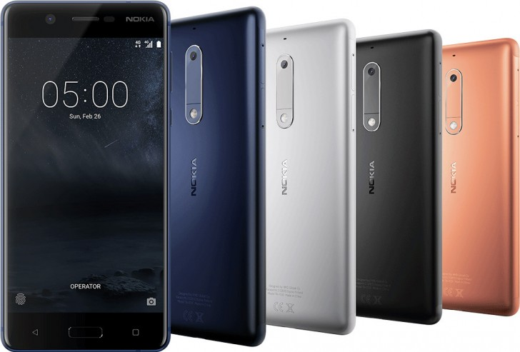 Nokia 5 and 3