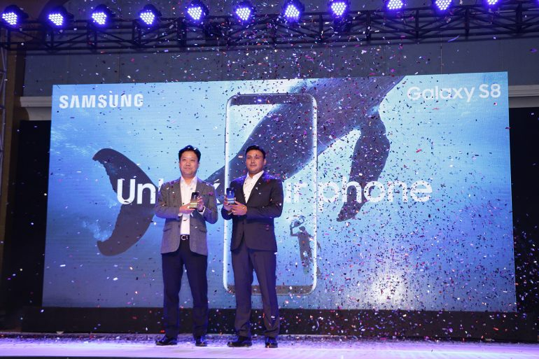 Samsung Galaxy S8 and S8 Plus launch in Nepal