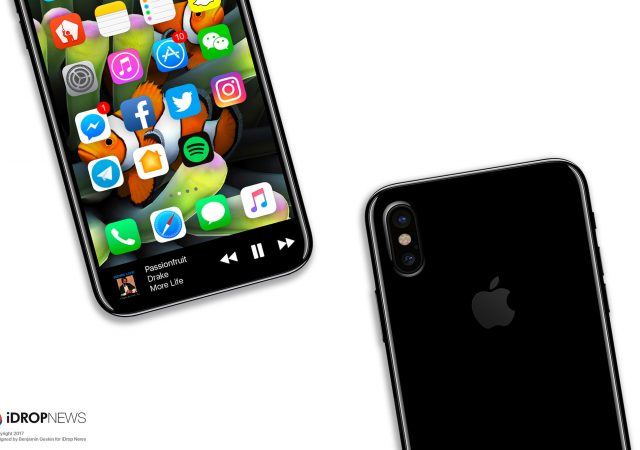 function area of iPhone 8