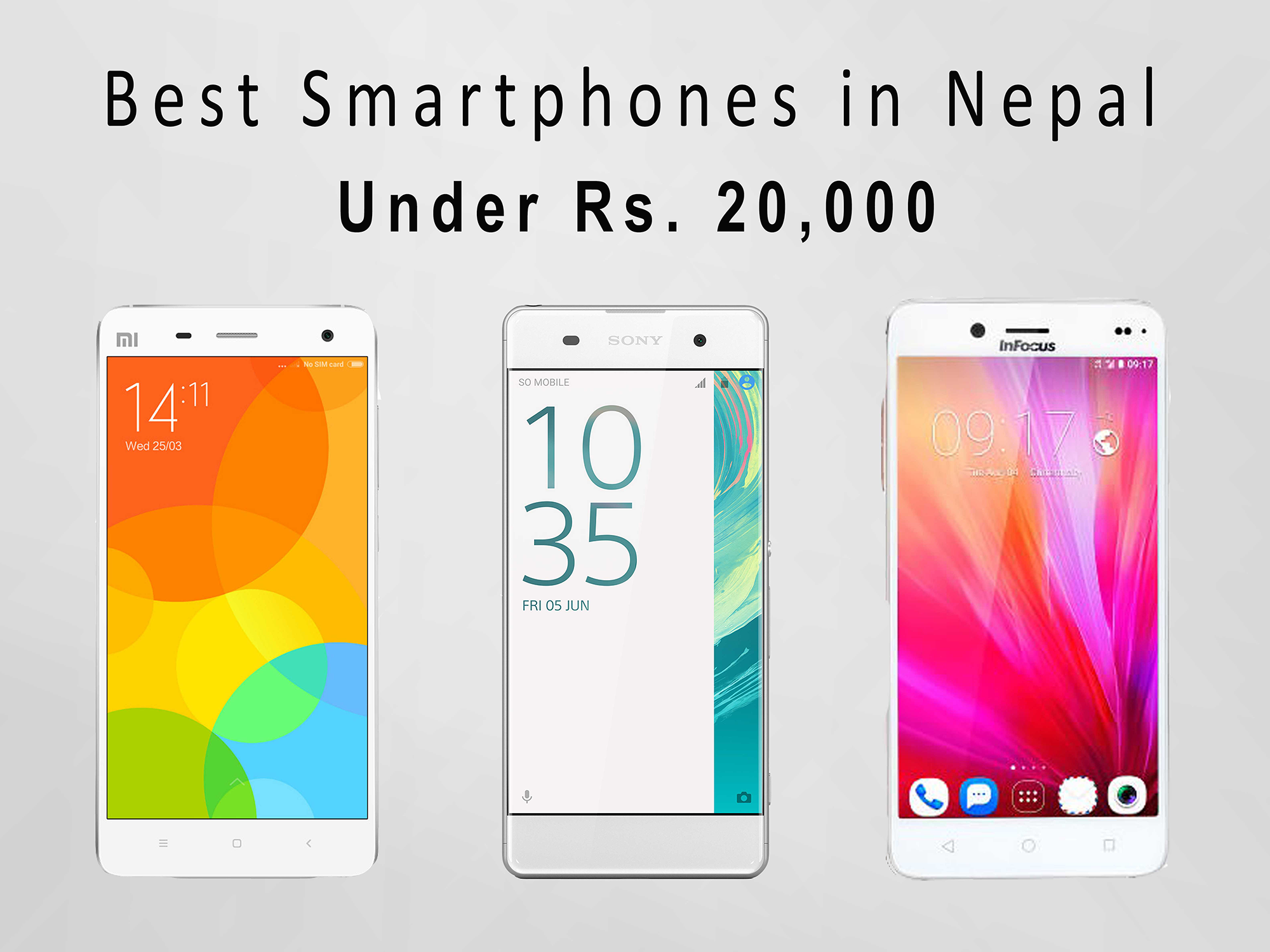 best phones under rs.20,000 in nepal
