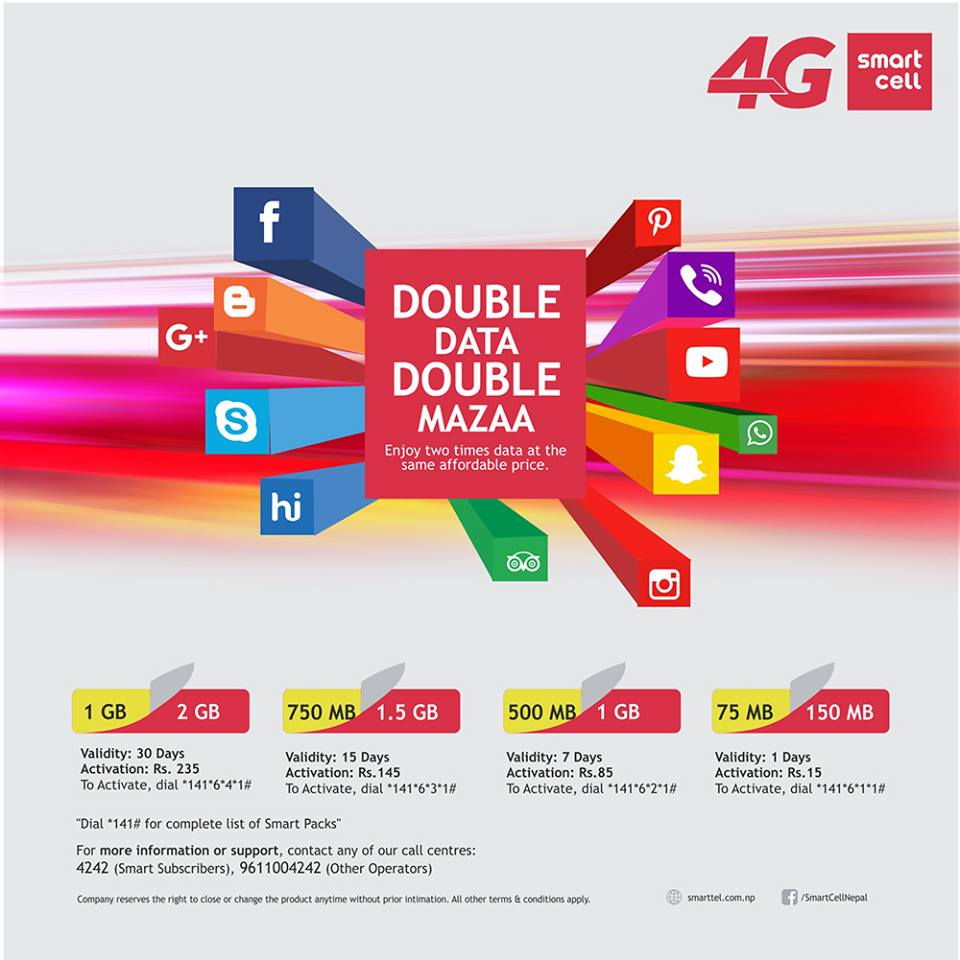 smart cell initiates 4G service in nepal