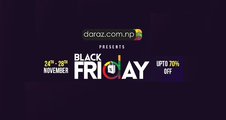 Daraz Black Friday Sale