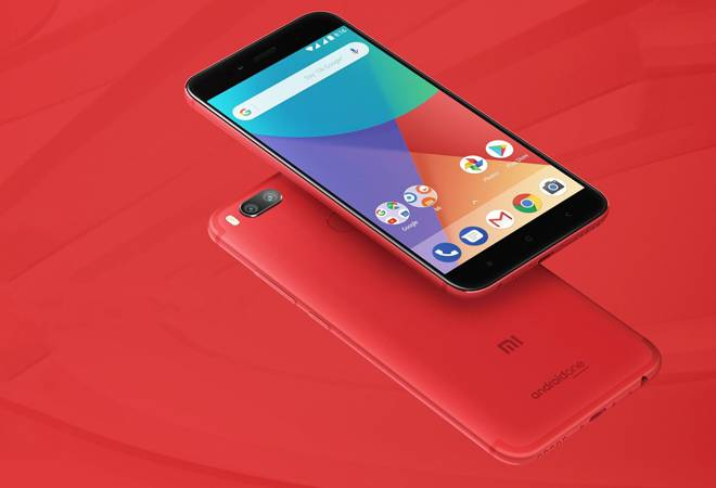 Xiaomi Mi A1 Red Colour Variant