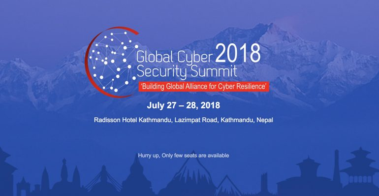 Global Cyber Security Summit in Nepal