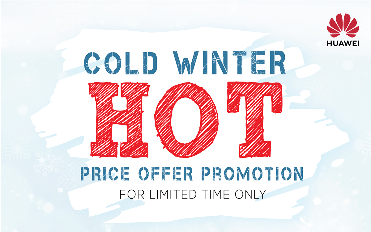Huawei Winter Promotion 2018