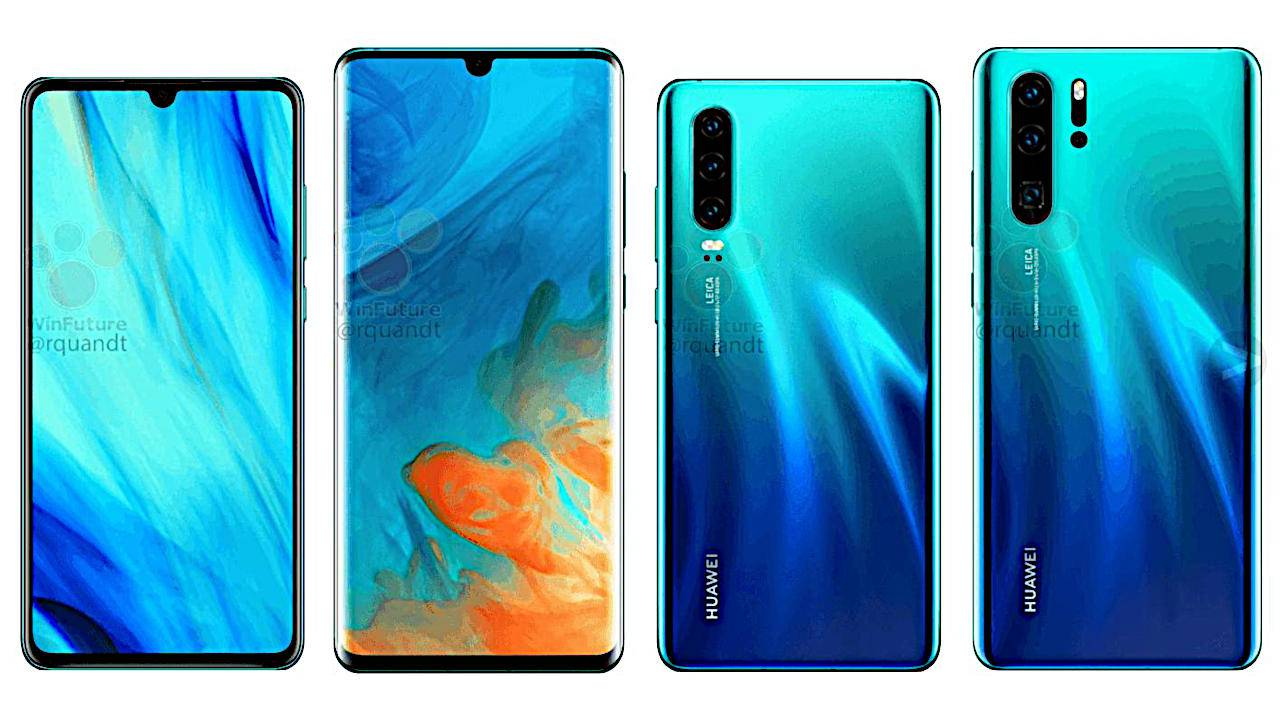 Huawei P30 Pro leaks and rumors