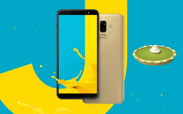 Samsung Galaxy J8 Android Pie update