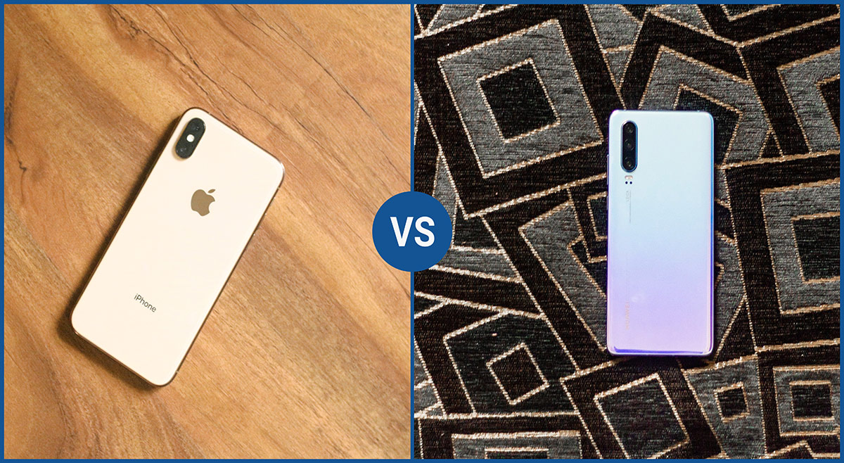Huawei P30 vs iPhone XS