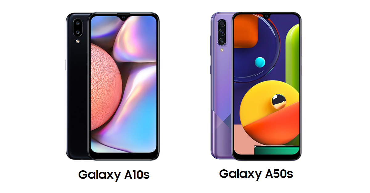 Samsung Galaxy A10s and A50s Prices Dropped