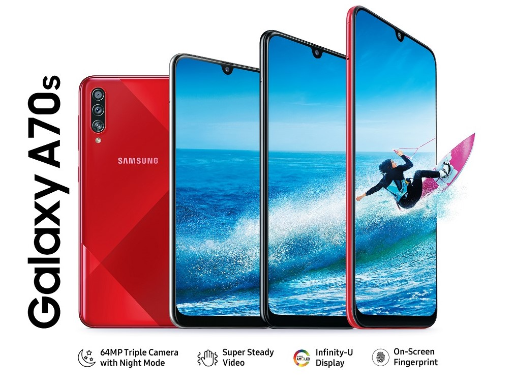 Samsung Galaxy A70s Price in Nepal