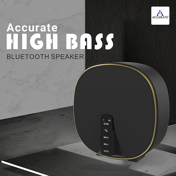 Accurate High Bass Bluetooth Speaker