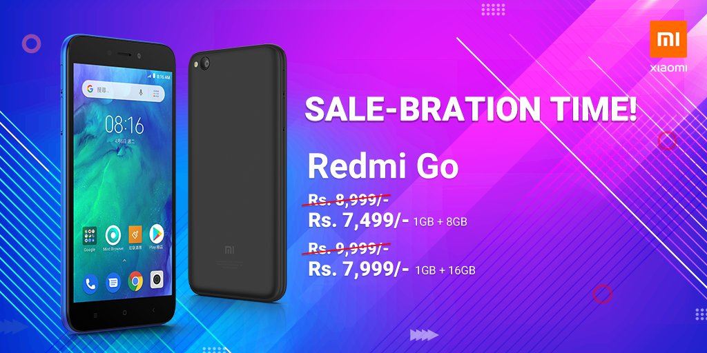 Redmi Go New Year offer