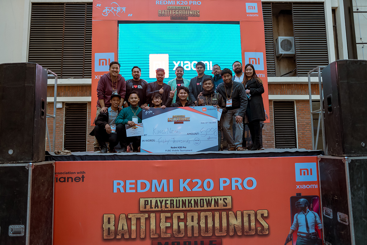 Redmi K20 Pro PUBG Mobile Gaming Tournament in Nepal