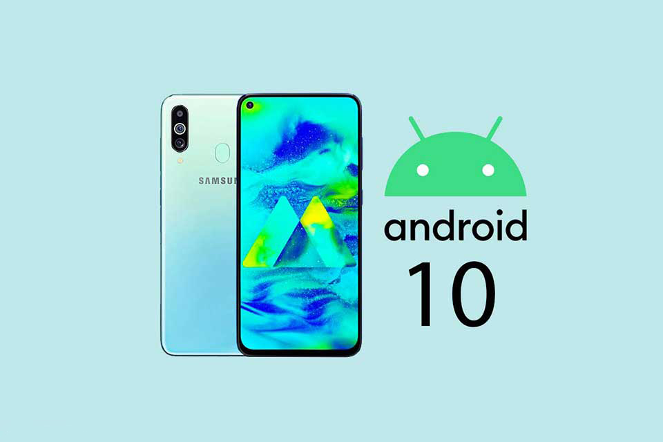 Samsung Galaxy M40 Android 10 update