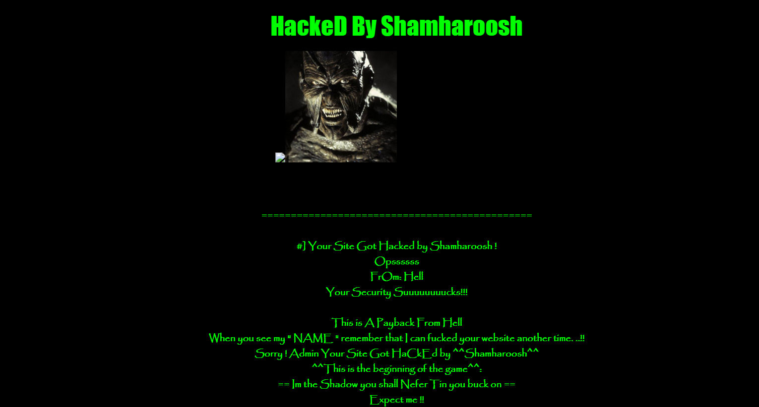 Nepali site hacked