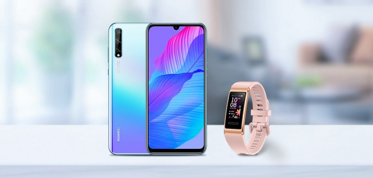 Huawei Y8p and Huawei Band 4 Pro