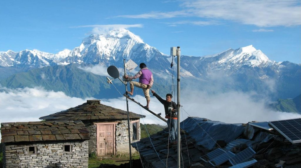ISP and internet in Nepal