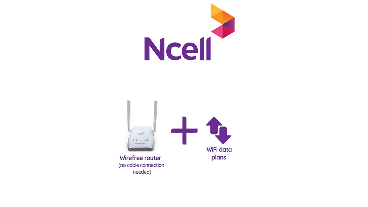 Ncell Wirefree+