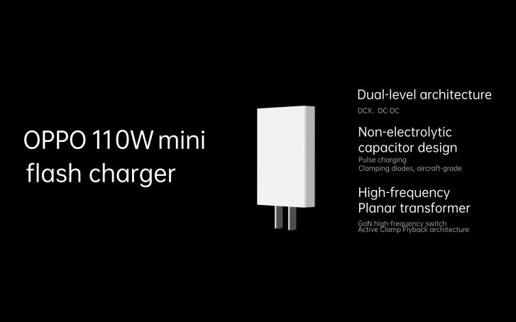 Oppo 110W mini flash charger
