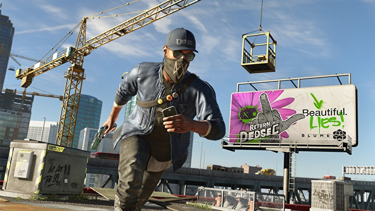 Watch Dogs 2 for free
