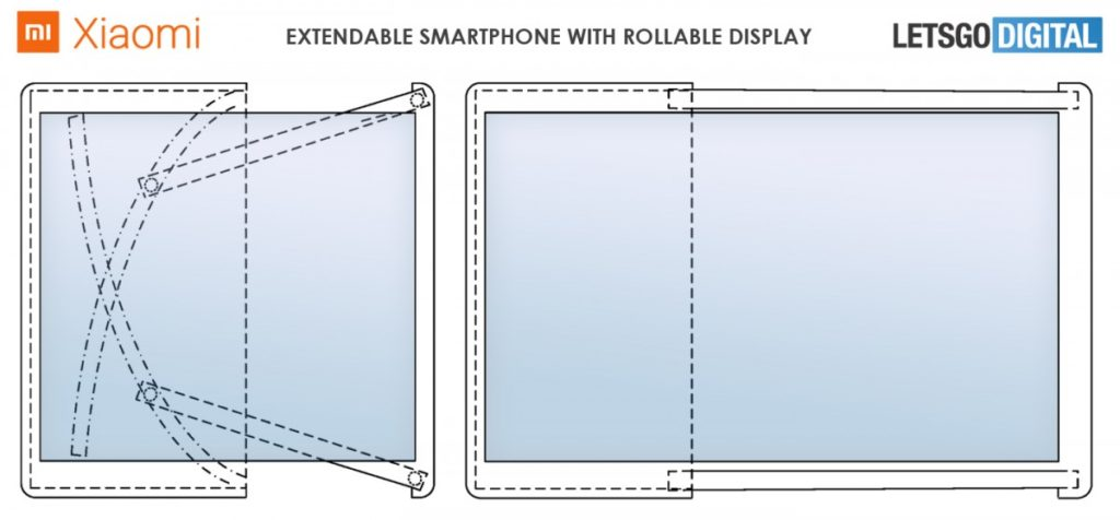 Xiaomi Rollable Smartphone Patent