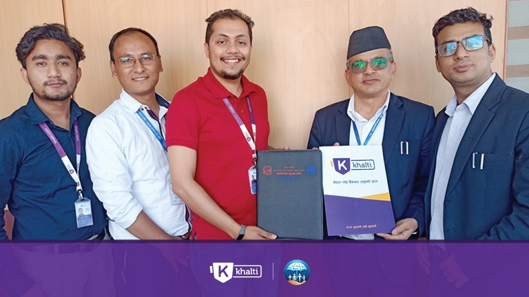 Khalti and Social Security Fund Nepal
