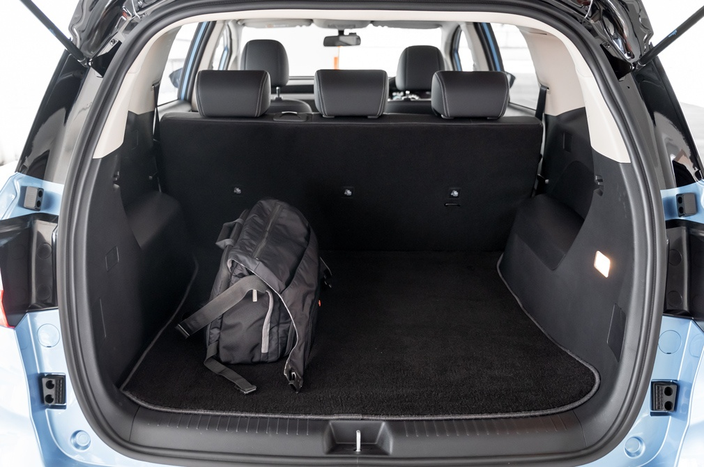 BYD e6 bootspace