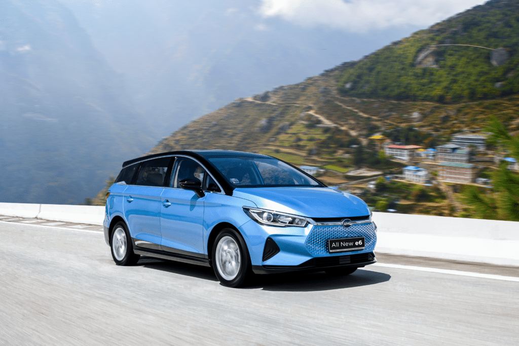 BYD e6 price in Nepal