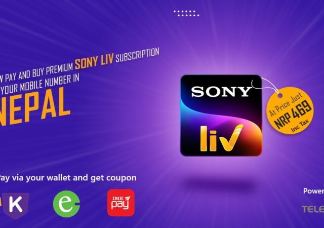 Pay for SonyLIV in Nepal